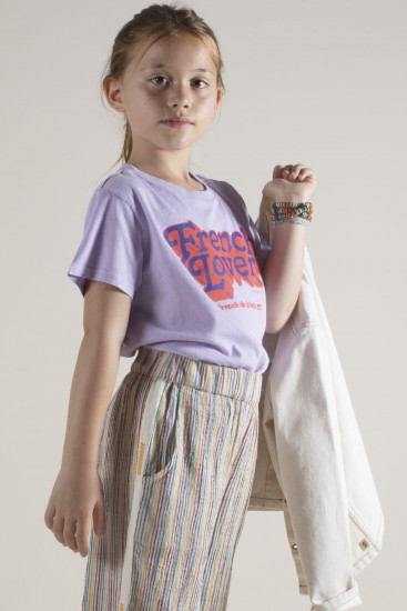Sunchild T-shirt french lover 28A parme