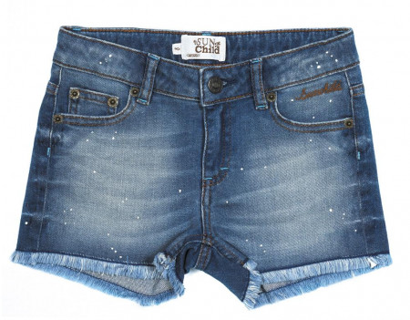 Sunchild Short PRASLIN 10-16A Authentic Blue Bleu