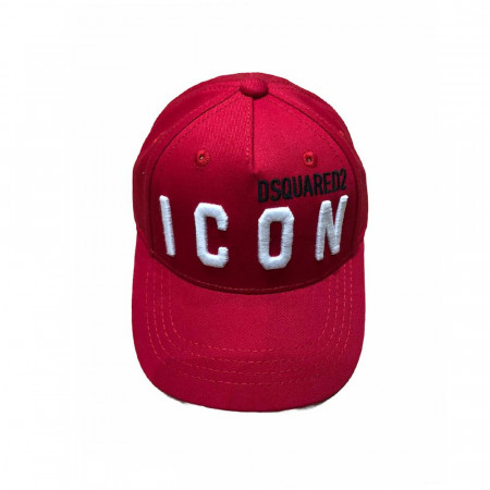 Dsquared Casquette rouge icon  Rouge